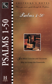 Shepherd's Notes on Psalms 1-50 - eBook   -