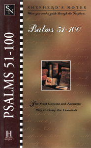 Shepherd's Notes on Psalms 51-100 - eBook   -