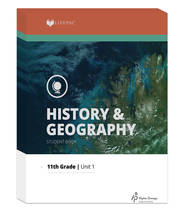 Lifepac History & Geography Complete Set, Grade 11   -