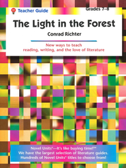 Light in the Forest - Teacher Guide Novel Units, Inc.
