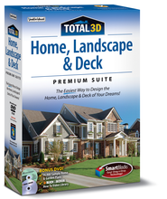 Total 3D Home, Landscape, & Deck Premium Suite 12 CD-ROM   -