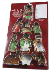 Nativity Story Cookie Cutter Set  -