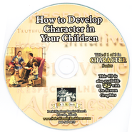 How to Develop Character In Your Children Audio CD  -     By: Dr. S.M. Davis
