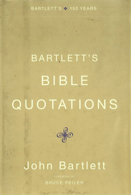 Bartlett's Bible Quotations - eBook  -     By: John Bartlett