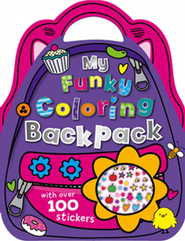 My Funky Sticker Backpack  -