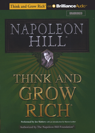 Think and Grow Rich - unabridged audiobook on CD   -     Narrated By: Joe Slattery     By: Napoleon Hill, Victor