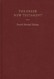 The Greek New Testament (UBS4) - Slightly Imperfect   -