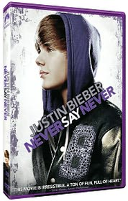 Justin Bieber: Never Say Never, DVD   -