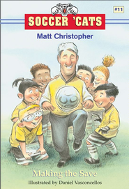 Soccer 'Cats #11: Making the Save - eBook  -     By: Matt Christopher     Illustrated By: Dan Vasconcellos