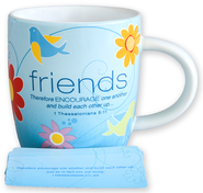 Cup of Friendship 2 Mug  -