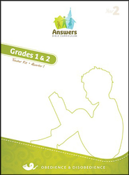 Answers Bible Curriculum Year 2 Quarter 1 Grades 1-2 Teacher Kit                                                 -