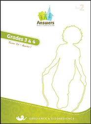 Answers Bible Curriculum Year 2 Quarter 1 Grades 3-4 Teacher Kit                                                -
