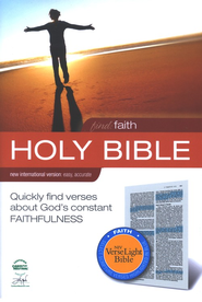 Find Faith: NIV VerseLight Bible: Quickly Find Verses about God's Constant Faithfulness 1984 - Slightly Imperfect  -