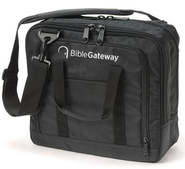 Bible Gateway, Canvas Briefcase, Black     -