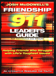 Friendship 911: Helping Friends Who Struggle with Life's Toughest Issues - eBook  -     By: Josh McDowell