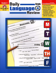 Daily Language Review Grade 4   -     By: Laurie Barreau Williams