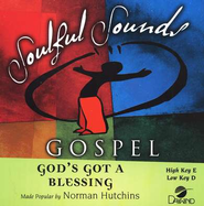 God's Got A Blessing, Accompaniment CD   -     By: Norman Hutchins