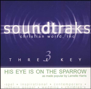 His Eye Is On The Sparrow, Accompaniment CD   -     By: Larnelle Harris