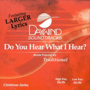 Do You Hear What I Hear? Accompaniment CD   -     By: Traditional