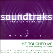 He Touched Me, Acc CD   -     By: The Gaithers