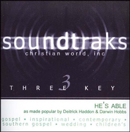 He's Able, Accompaniment CD   -     By: Deitrick Haddon, Darwin Hobbs