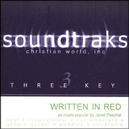 Written in Red, Acc CD   -     By: Janet Paschal