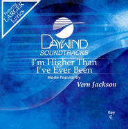 I'm Higher Than I've Ever Been, Acc CD   -     By: Vern Jackson