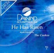 He Has Risen, Accompaniment CD   -     By: The Cookes