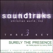 Surely the Presence, Acc CD   -     By: Lanny Wolfe