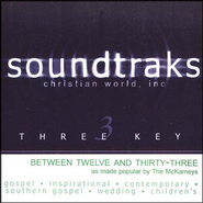 Between Twelve And Thirty-Three, Accompaniment CD   -     By: The Mckameys