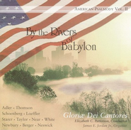 By The Rivers Of Babylon CD   -     By: Gloriae Dei Cantores