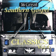 16 Great Southern Gospel Classics, Volume 4 CD   -