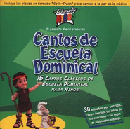 Cantos De Escuela Dominical/Sunday School Songs, Compact Disc [CD] , Spanish Edition  -     By: Cedarmont Ninos