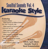 Soulful Sounds, Volume 4, Karaoke Style CD   -
