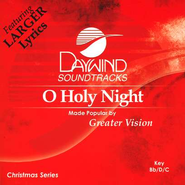 O Holy Night, Accompaniment CD   -     By: Greater Vision