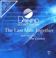 The Last Mile Together, Accompaniment CD   -     By: The Cookes