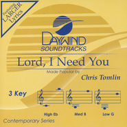 Lord, I Need You, Acc CD   -     By: Chris Tomlin