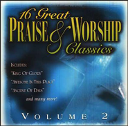 16 Great Praise & Worship Classics, Volume 2 CD   -