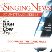 God Walks The Dark Hills, Accompaniment CD   -
