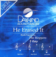 He Erased It, Accompaniment CD   -     By: The Hoppers