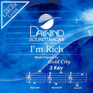 I'm Rich, Accompaniment CD   -     By: Gold City