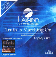Truth Is Marching On, Accompaniment CD   -     By: Legacy Five
