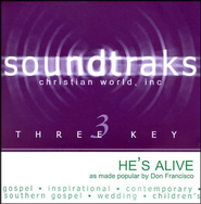 He's Alive, Acc CD   -     By: Don Francisco