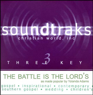 The Battle Is The Lord's, Accompaniment CD   -     By: Yolanda Adams