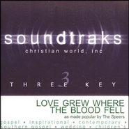 Love Grew Where The Blood Fell, Accompaniment CD   -     By: The Speers