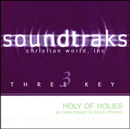 Holy Of Holies, Accompaniment CD   -     By: Karen Wheaton