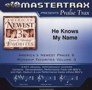 He Knows My Name, Acc CD   -