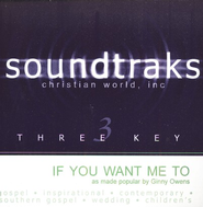 If You Want Me To, Accompaniment CD   -     By: Ginny Owens