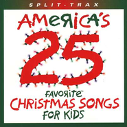 America's 25 Favorite Christmas Songs For Kids, Split-Track,  Compact Disc [CD]  -