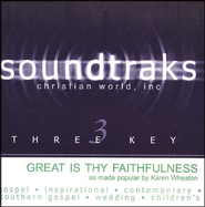 Great Is Thy Faithfulness, Accompaniment CD   -     By: Karen Wheaton